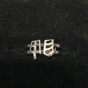 .925 sterling silver midi/toe ring